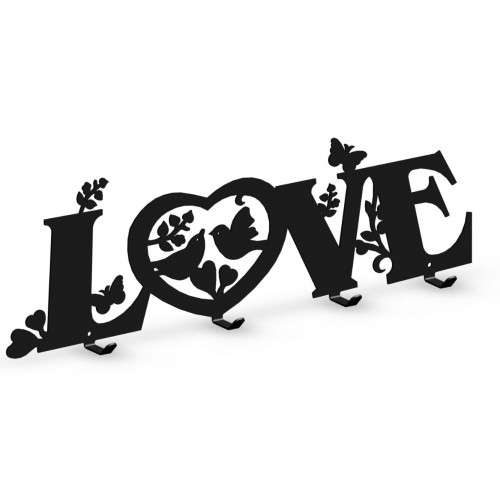 LOVE - wieszak na ubrania