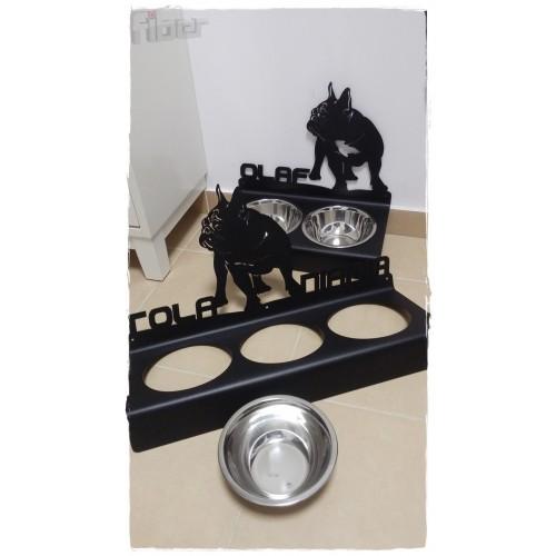 Stojak na miski dla psa lub kota różne rasy