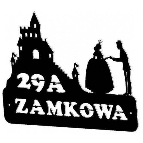 ZAMEK - Numer na dom