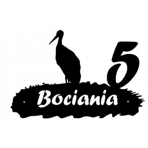 BOCIAN - Numer na dom