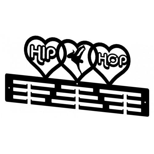 HIP-HOP - wieszak na medale