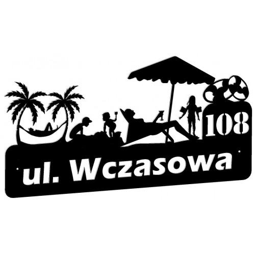 WCZASY - Numer na dom