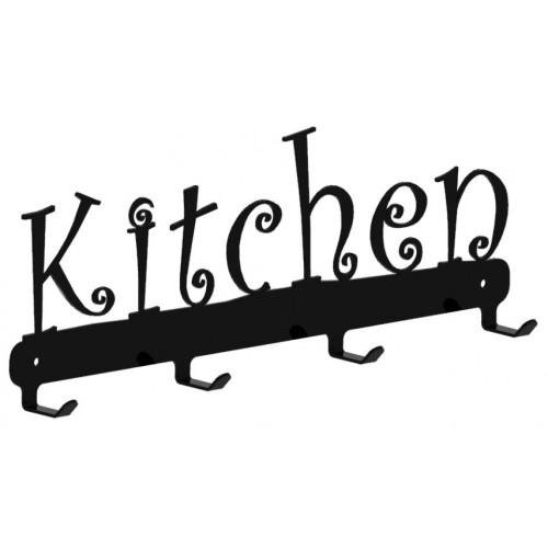 Kitchen - wieszak na fartuchy, ściereczki, itp.