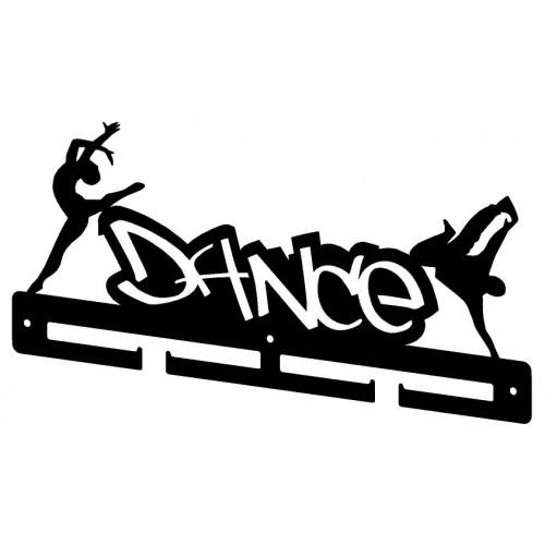 DANCE - wieszak na medale dla początkujących