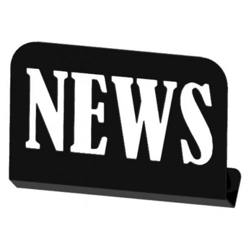 Gazetownik ścienny NEWS