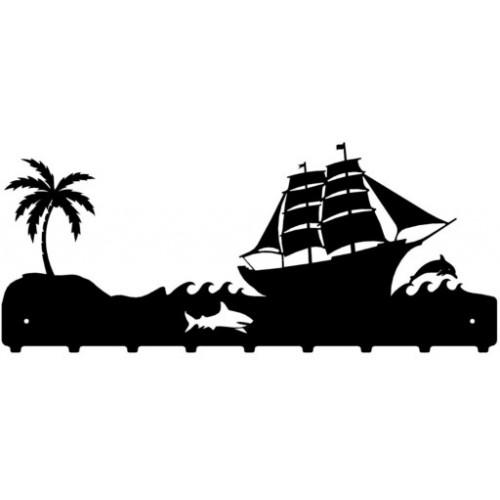 Statek - wieszak na ubrania