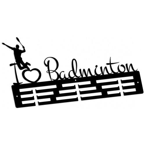 BADMINTON - wieszak na medale