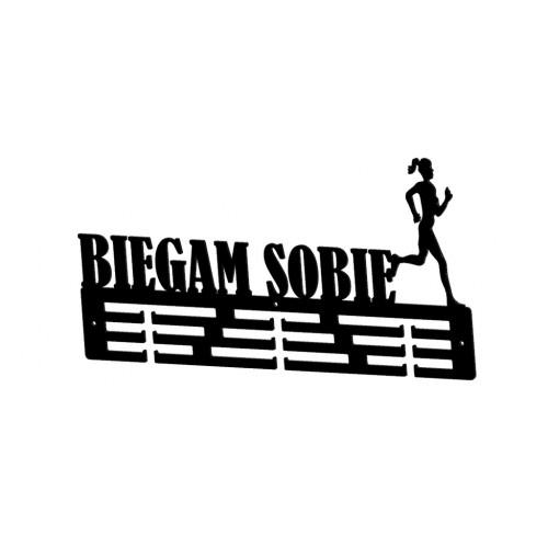 BIEGAM SOBIE - wieszak na medale