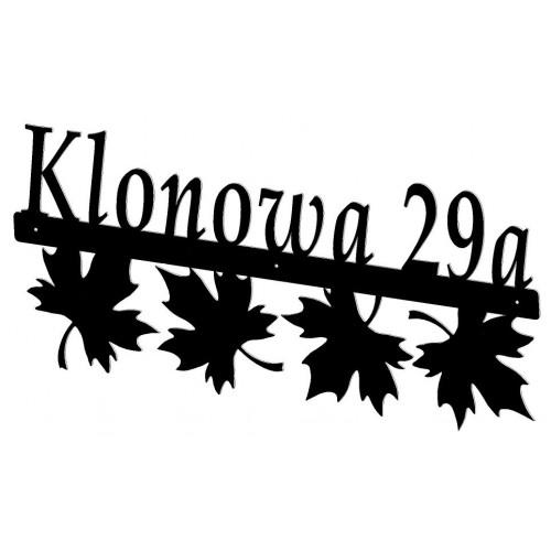 KLON - Numer na dom