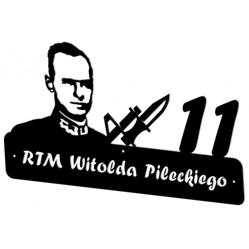 Rtm Pilecki - Numer na dom
