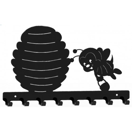 Pszczółka - wieszak na ubrania