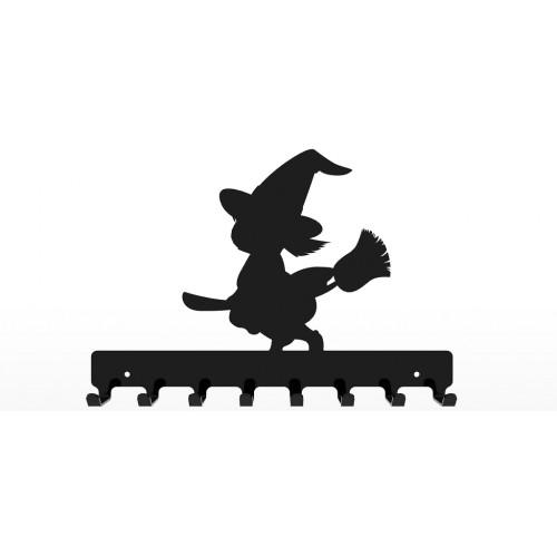 Czarownica - wieszak na ubrania