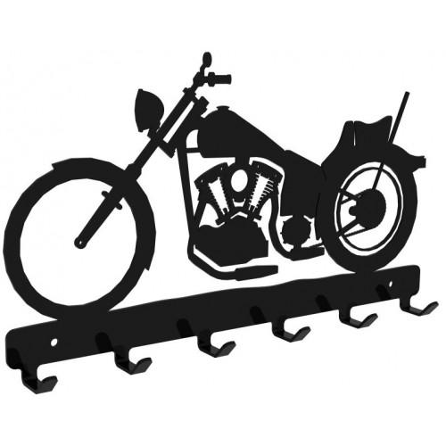 Motocykl - wieszak na klucze