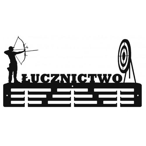 ŁUCZNICTWO - wieszak na medale