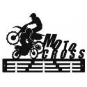 MOTOCROSS - wieszak na medale