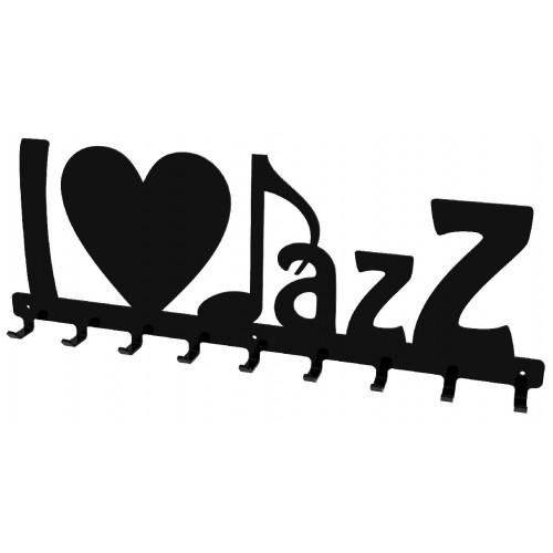 I love Jazz - wieszak na ubrania