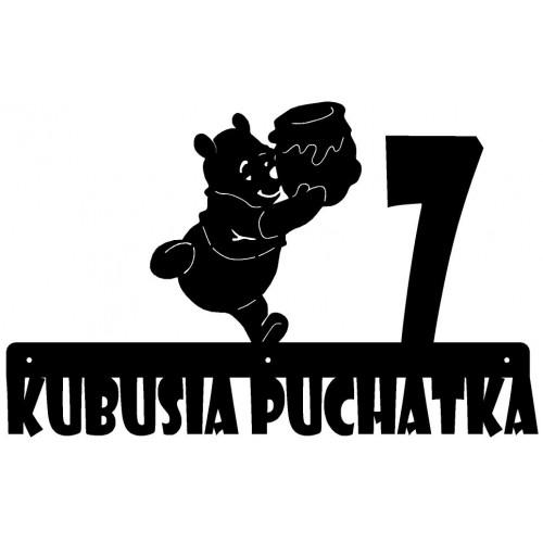 ULICA KUBUSIA PUCHATKA - Numer na dom