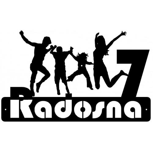ULICA RADOSNA - Numer na dom - 1