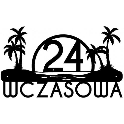 ULICA WCZASOWA - Numer na dom - 1