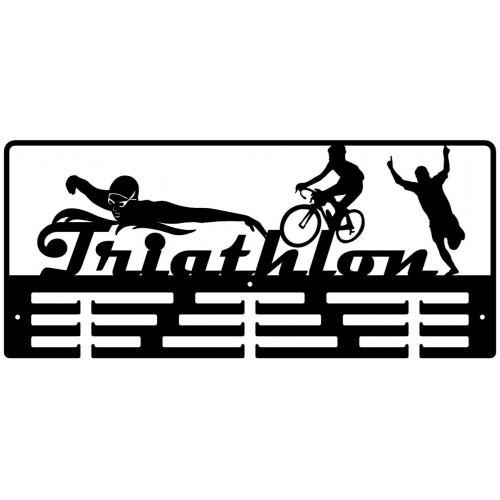 TRIATHLON - wieszak na medale