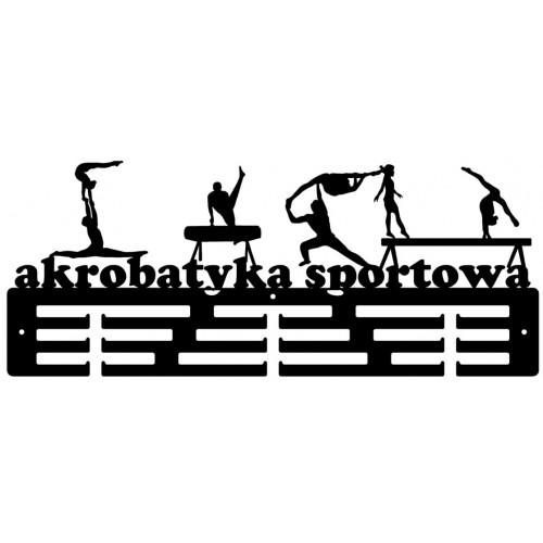AKROBATYKA SPORTOWA - wieszak na medale