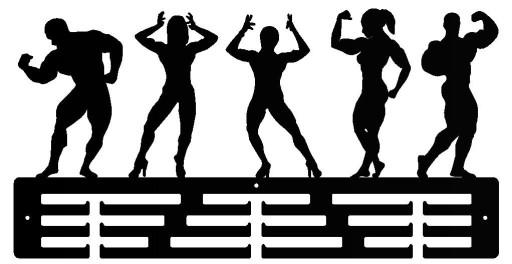 Wieszak dla fitness womam